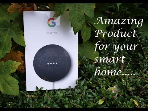Google Smart home product || Nest Mini || Your new home assistant...