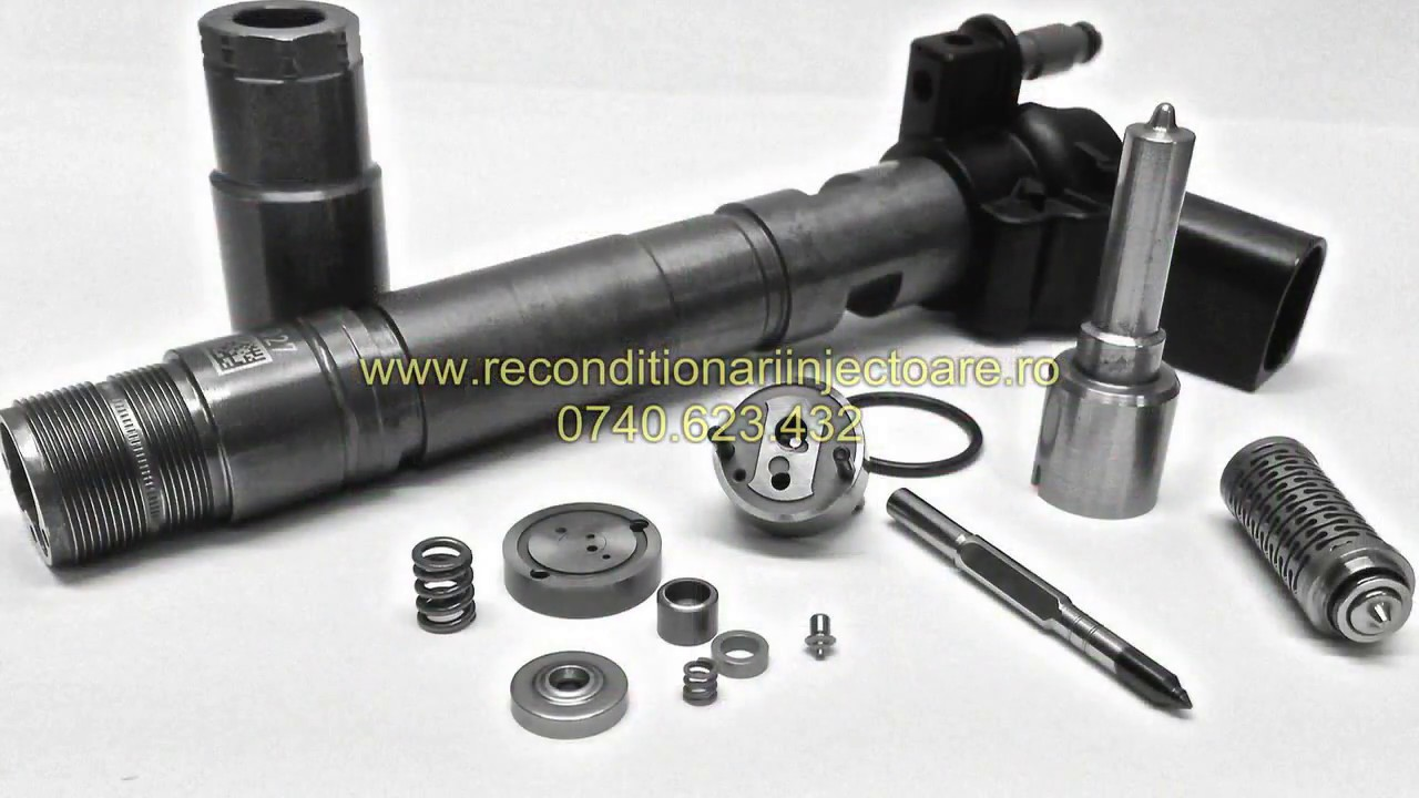 Reparatii injectoare Piezo Bosch