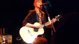Suzanne Vega - The Fool's Complaint (new song) - live Freiheiz Munich 2014-02-11