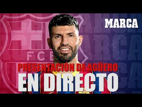 Kun Agüero EN DIRECTO: Rueda de prensa y presentación con el FC Barcelona EN VIVO