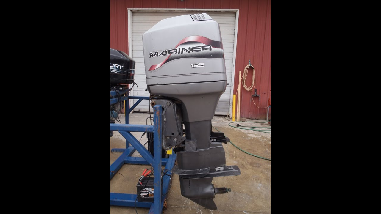 6m1429 1998 mariner 125elpto outboard boat motor youtube rh youtube com mariner 115 hp outboard manual free download mariner 115 hp outboard manual