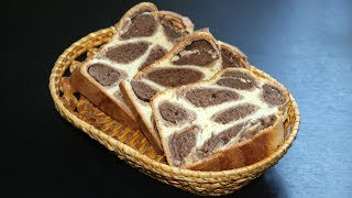 Пятнистый сладкий хлеб в домашних условиях. Рецепт за 70 рублей