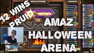 Hearthstone Arena - Amaz Halloween Arena with 12 wins!