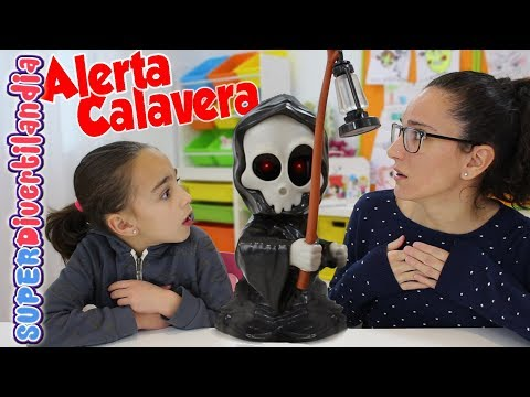 Alerta Calavera! SUPERDivertilandia con Andrea y Raquel!