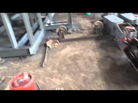 100TPH capacity gold trommel scrubber
