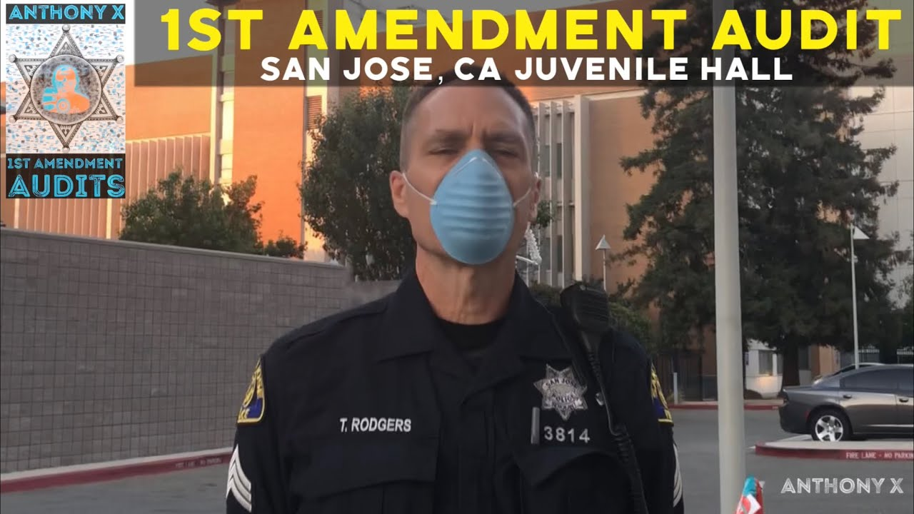 1st Amendment Audit San Jose, CA Juvenile Hall