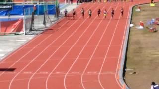 100 M finals boys secondary Palarong Pambansa 2017