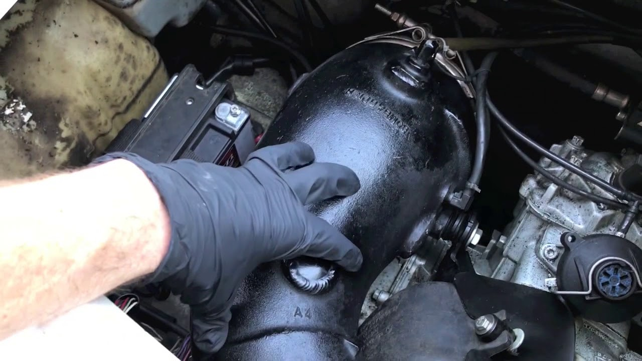 Sea Doo water leak - Exhaust Manifold pipe freeze plug Blowout!