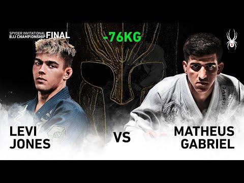 2019 SPYDER INVITATIONAL BJJ CHAMPIONSHIP FINAL -76kg Final : L.Jones Vs M.Gabriel(Full)