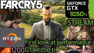 Far Cry 5 - GTX 1050 ti + Ryzen 3 1200 OC - Finding the biggest fps hit! - benchmark