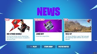NEW JUNK RIFT GAMEPLAY! SOCCER STADIUM IS GONE! FORTNITE SEASON X NEW JUNK RIFT UPDATE!