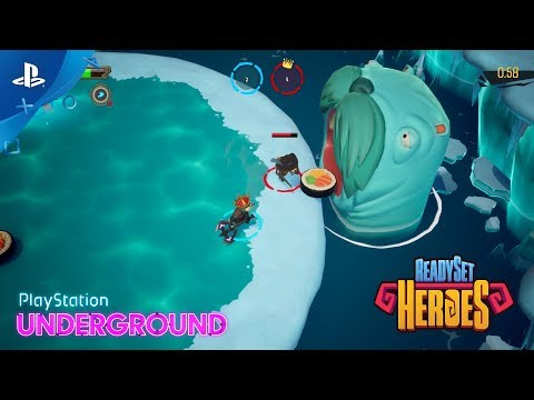 ReadySet Heroes – Multiplayer Gameplay   PlayStation Underground