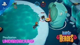 ReadySet Heroes – Multiplayer Gameplay | PlayStation Underground