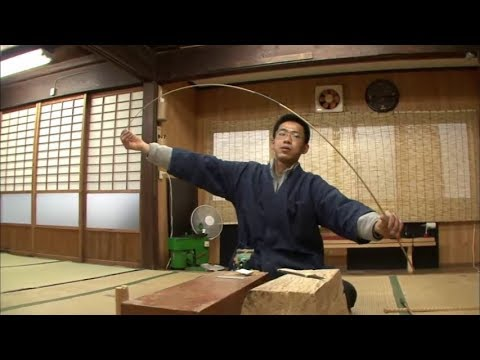 "Highly-Skilled Bamboo Craftspersons Specialized in Making The ""Kishu Fishing Rods""(Kishu Herazao)"