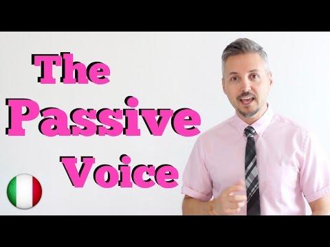 Inglese per Italiani: The Passive voice (Voce Passiva - Spiegato BENISSIMO in ITALIANO)