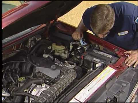 Changing Spark Plugs amp Replacing Plug Wires AutoZone Car