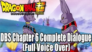 Dragon Ball Super Manga Chapter 6 Complete Dialogue! (Full Voice Over)