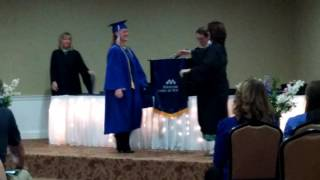Roxanne Hall graduates with nursing degree with highest honors- 4.0 gpa