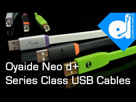 Oyaide Neo d Series Class S USB Cable 2M