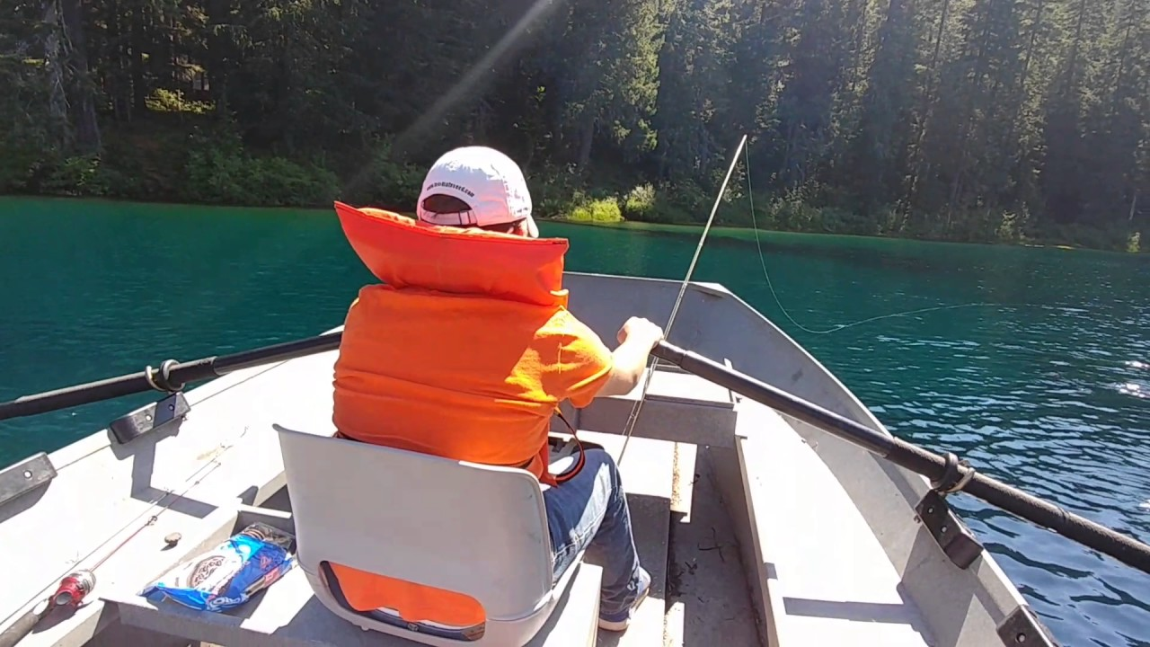 Fishing at clear lake linn county oregon youtube for Oregon free fishing day 2017