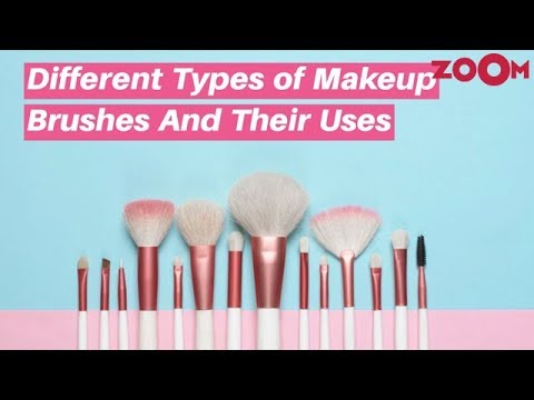 different types of makeup brushes and their uses  must