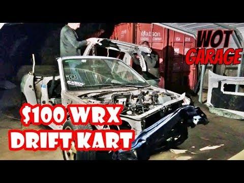 $100 WRX EXO Drift Kart is a GO!!