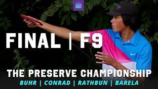 2021 The Preserve Championship | FINAL F9 | Buhr, Conrad, Rathbun, Barela | GATEKEEPER MEDIA