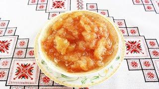 Варенье из яблок рецепт Яблочное варенье Как варить варенье из яблок Варення з яблук кусочками
