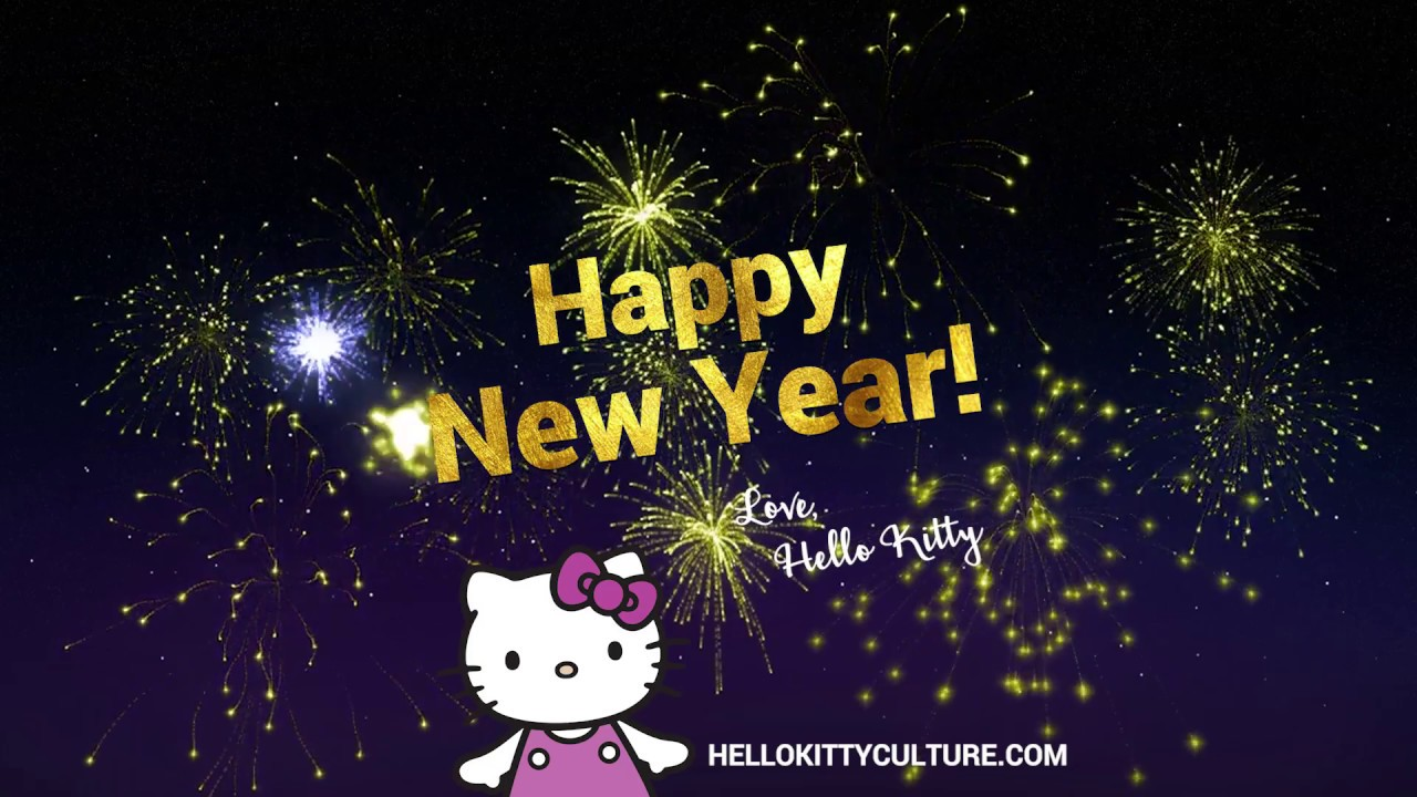 hello kitty new year hello kitty friends count down to 2017