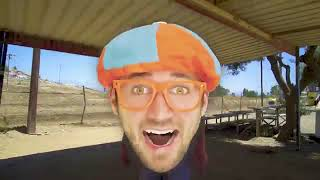 Blippi Rides a Motorcycle   Dirt Bikes for Children Copy