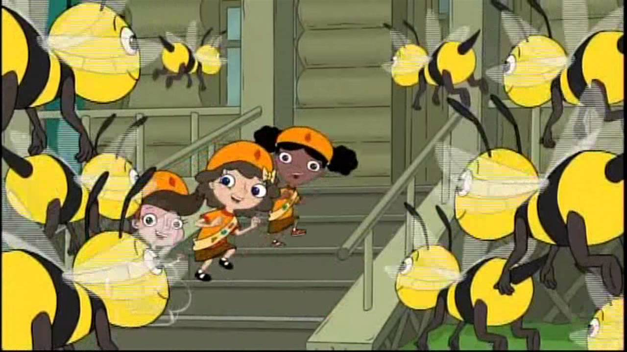 Phineas And Ferb Bee Story