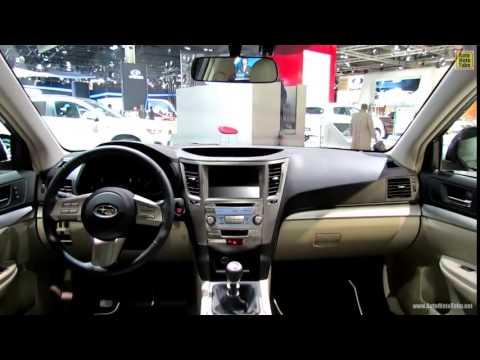 2013 Subaru Outback Diesel Exterior And Interior Walkaround 2012
