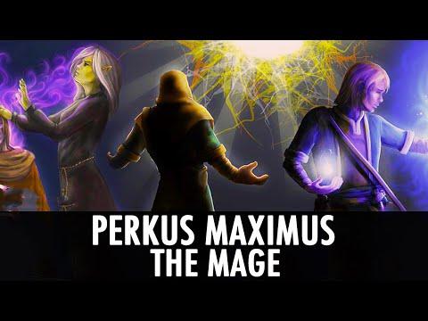 Skyrim Mod: Perkus Maximus - The Mage