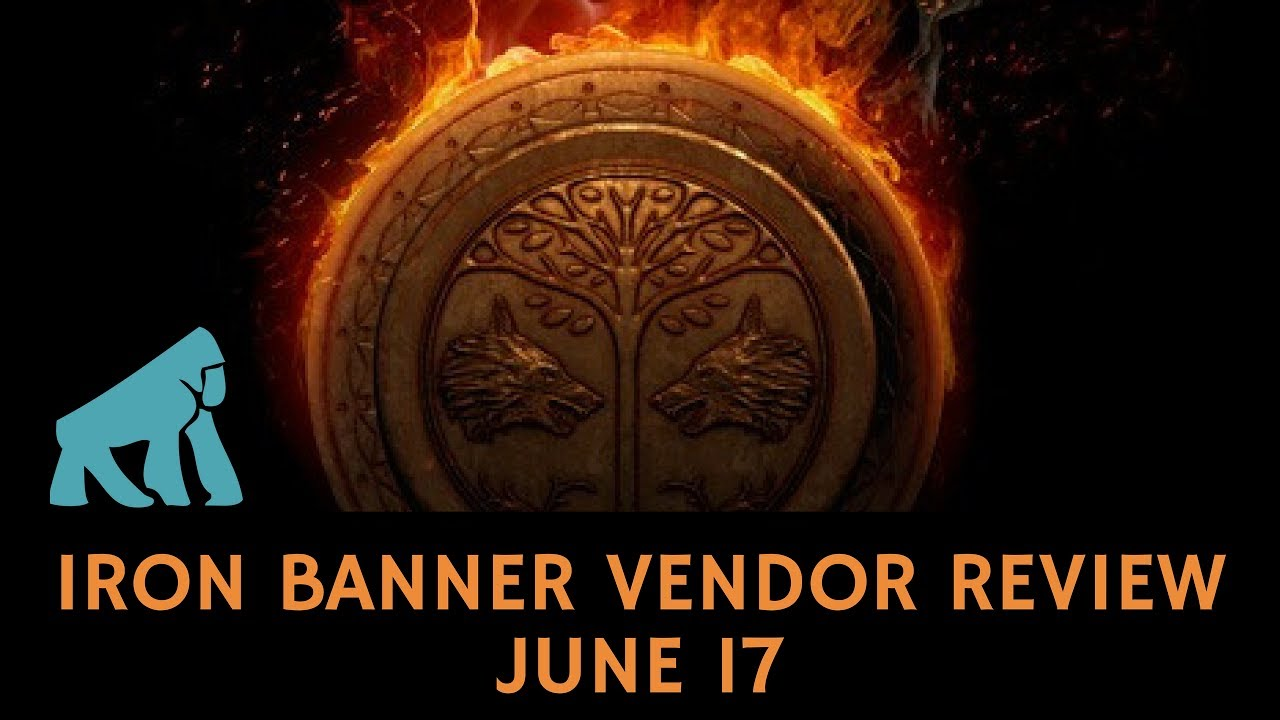 iron banner vendor review june 17 / destiny / age of triumph - youtube