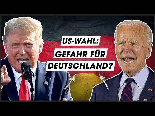 Trump vs. Biden: So wichtig ist die Wahl für Deutschland!