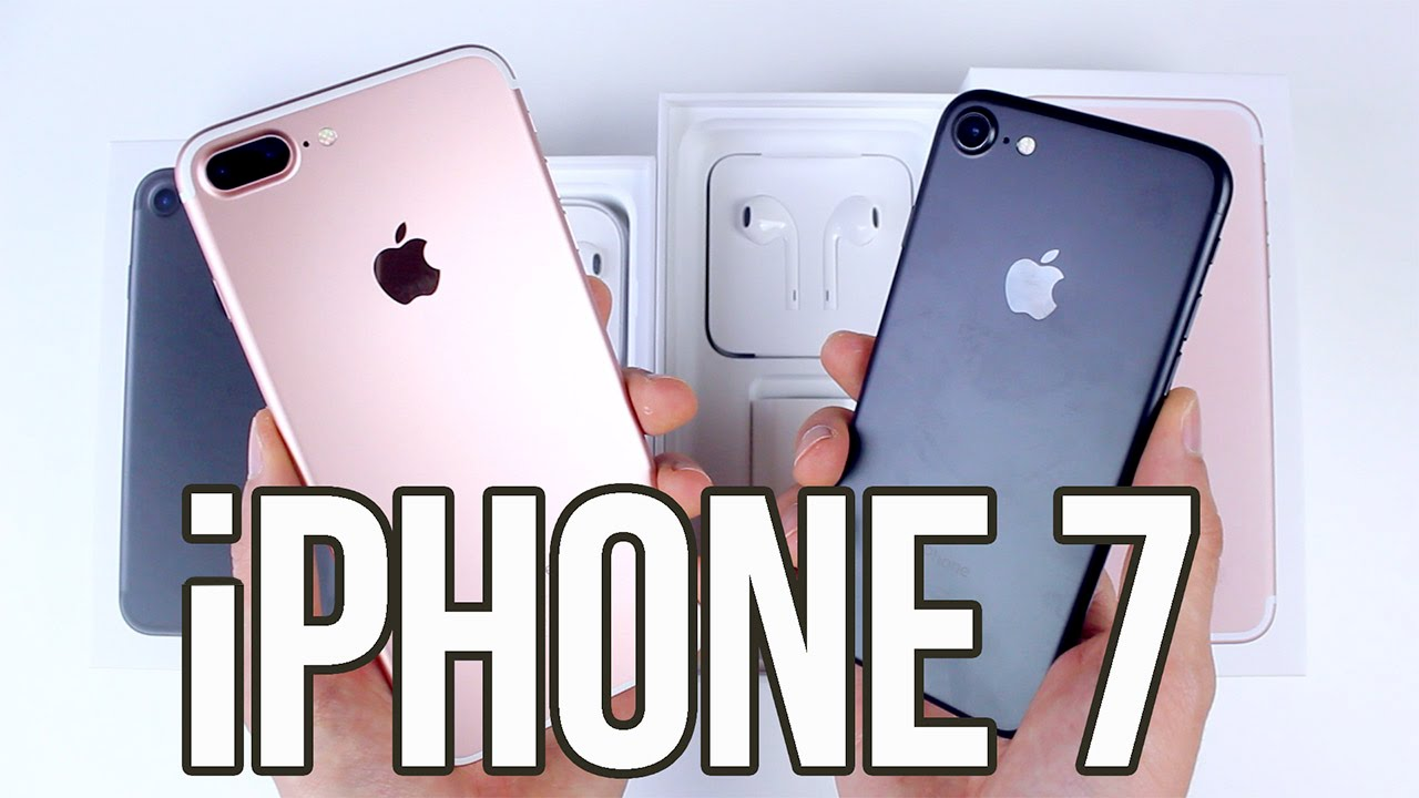 Apple Iphone 7 Et 7 Plus Deballage Et Prise En Main Unboxing