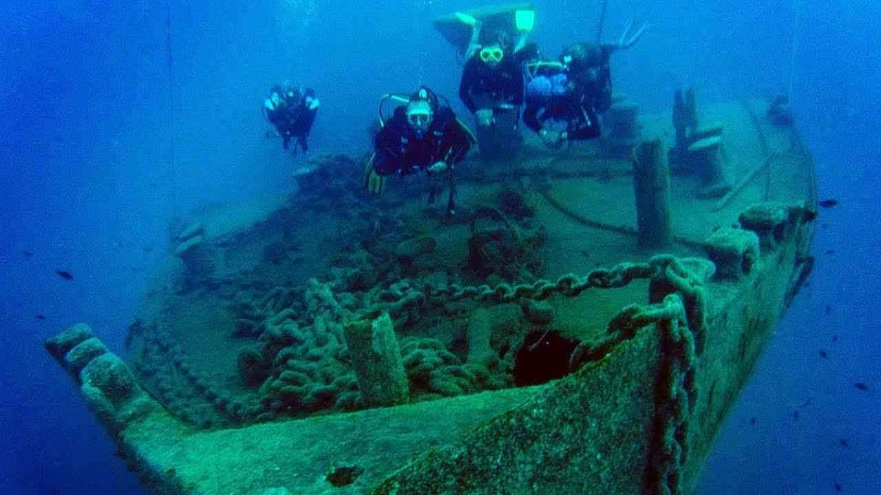 Tarihi St. Didier Batığındaki Hayalet Ağlardan Su Altı Canlılarını Kurtarma Görüntüleri Basında