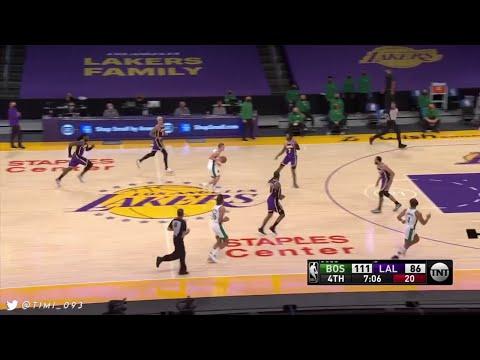 Payton Pritchard Highlights vs Los Angeles Lakers (15 pts, 7 reb, 3 ast)