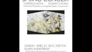 Zikr arr. Ethan Sperry (Lewis & Clark College Cappella Nova, Katherine FitzGibbon)