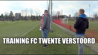 Dennis overvalt training FC Twente