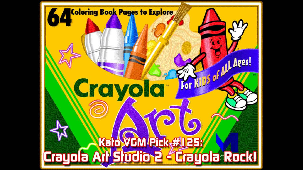 Kato VGM Pick #125: Crayola Art Studio 2 - Crayola Rock! - YouTube