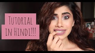 Easy Makeup tutorial | FULL VIDEO IN HINDI! | Malvika Sitlani