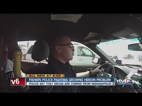 Fishers police fighting growing heroin problem