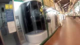 видео душевая кабинка niagara