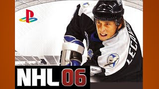 NHL 06 Gameplay Oilers Hurricanes PS2 {1080p 60fps}