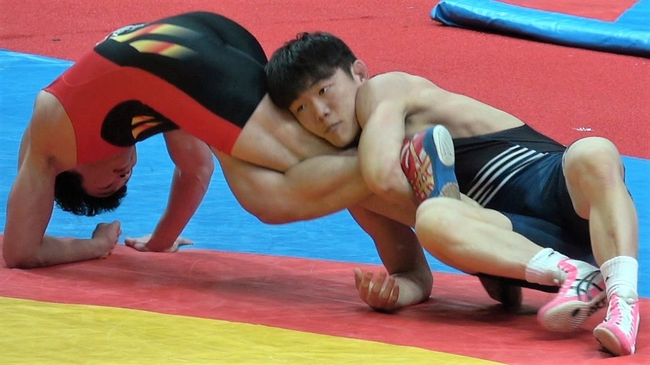 Competitive mixed sample wrestling xxx