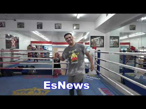 Antoine Fuqua Director Of Training Day With Funez & Rios EsNews Boxing
