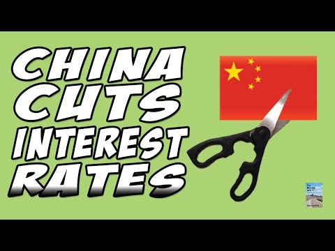 China Economic Slowdown as Central Bank Cuts Interest Rates AGAIN!