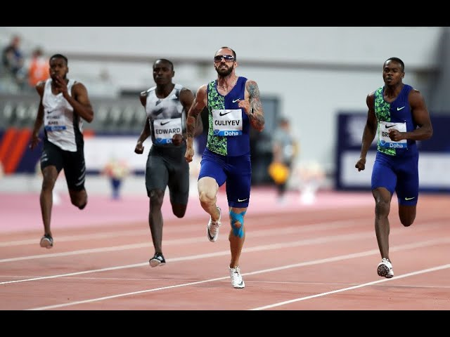 Ramil Guliyev 200m in Rabat - IAAF Diamond League 2019 (20.28)