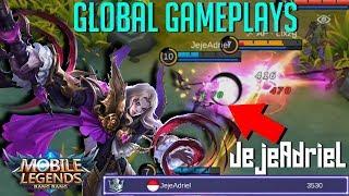Global Gameplays Spectating JejeAdriel   Global Lancelot  Mobile Legends